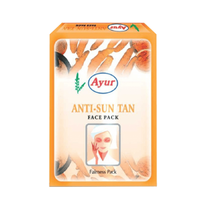 Ayur Anti Sun Tan Face Pack