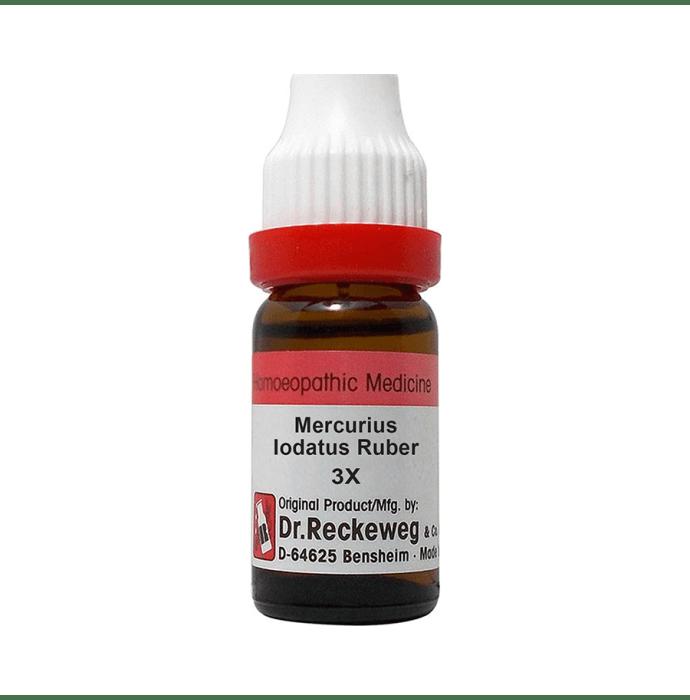Dr. Reckeweg Mercurius Iodatus Ruber Dilution 3X