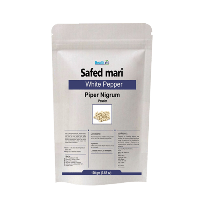 HealthVit Safed Mari Powder