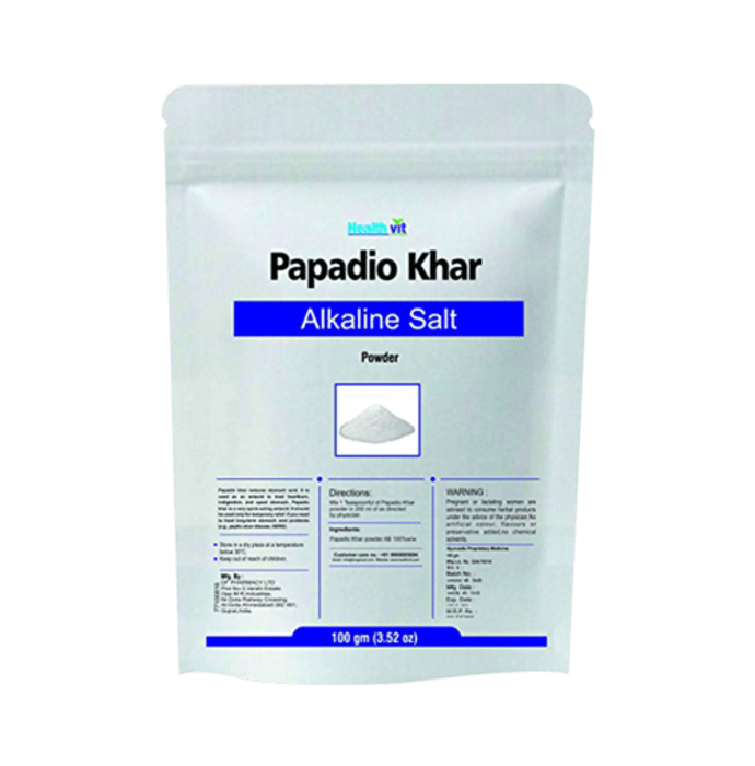 HealthVit  Papadio Khar Powder