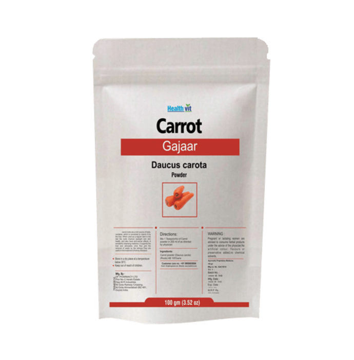 HealthVit Carrot Powder