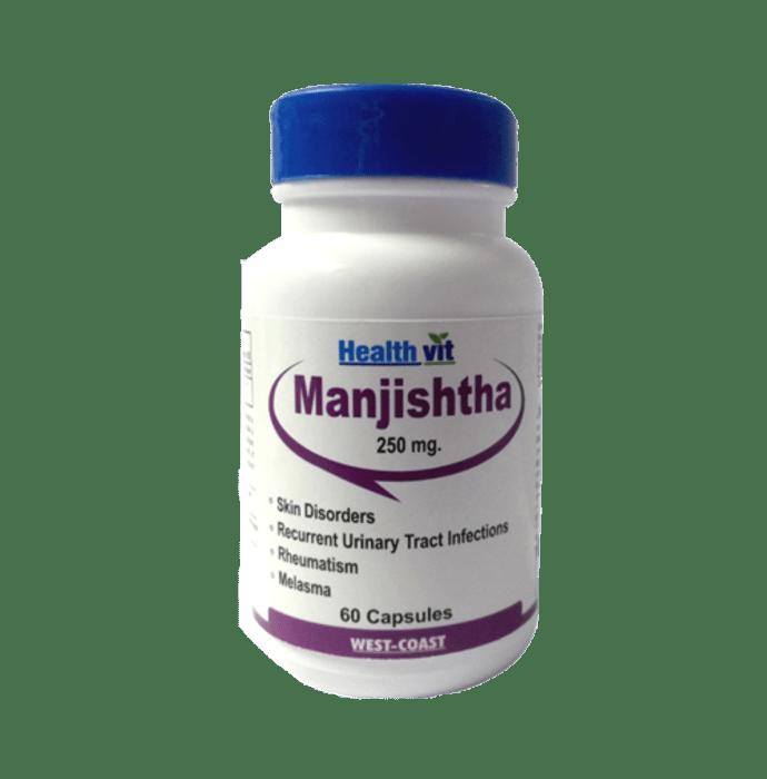 HealthVit Manjishtha 250mg Capsule
