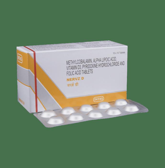 Nervz D Tablet