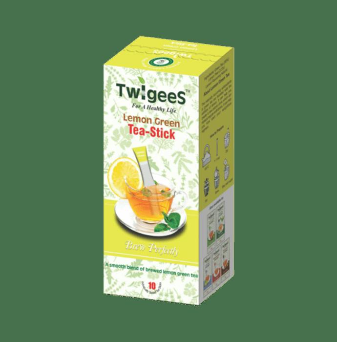 Nature & Nurture Twigees Lemon Green Tea Stick