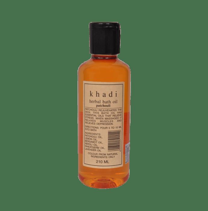 Khadi Naturals Herbal Bath Oil Patchouli