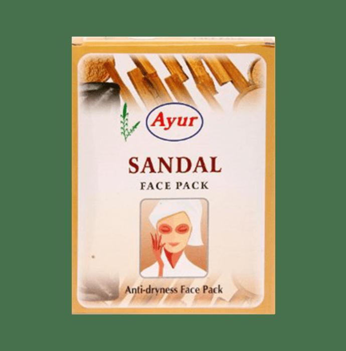 Ayur Sandal Face Pack