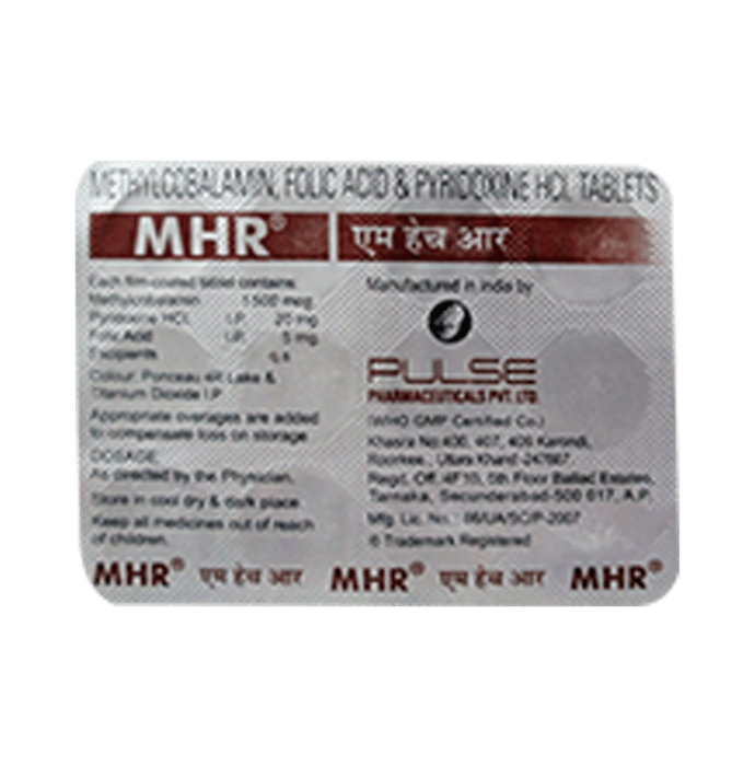 Mhr Tablet