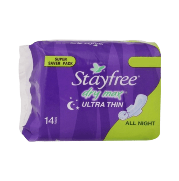 Stayfree Dry-Max All Night Pads