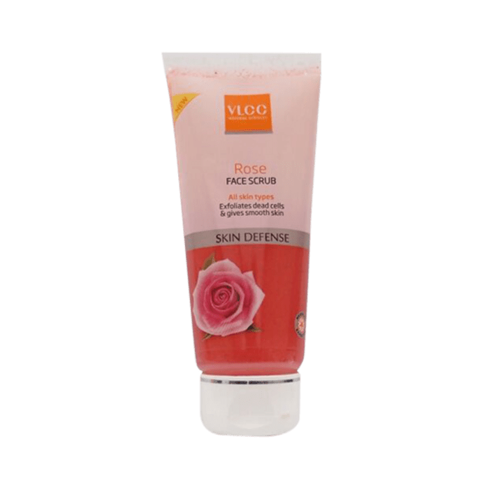 VLCC Rose Face Scrub