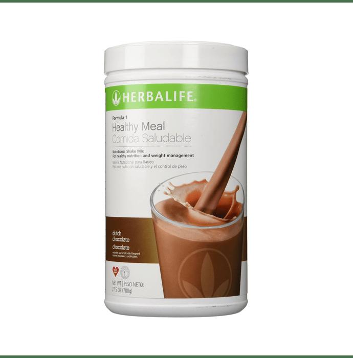 Herbalife Formula 1 Nutritional Shake Mix Dutch Chocolate