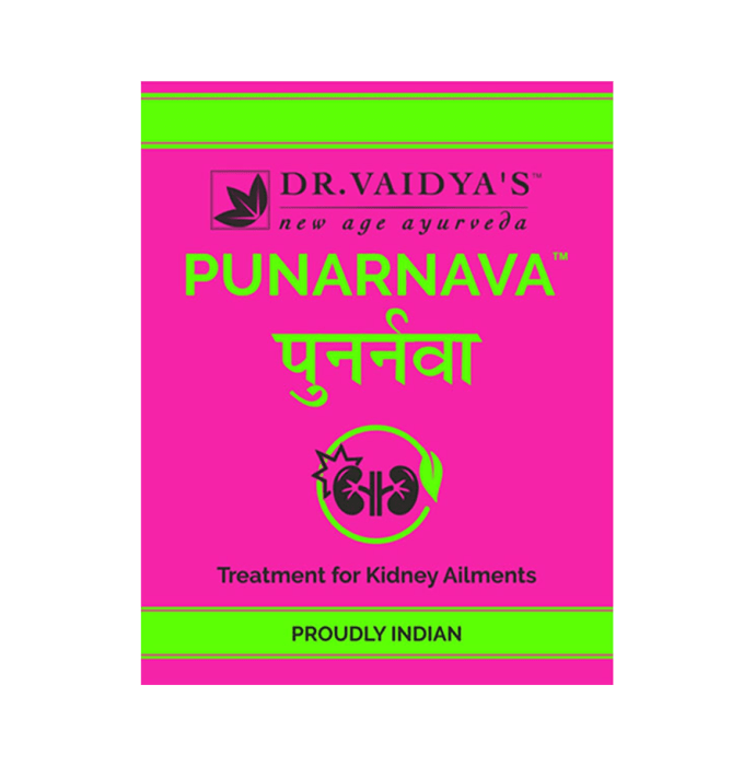 Dr. Vaidya's Punarnava Pills Pack of 4