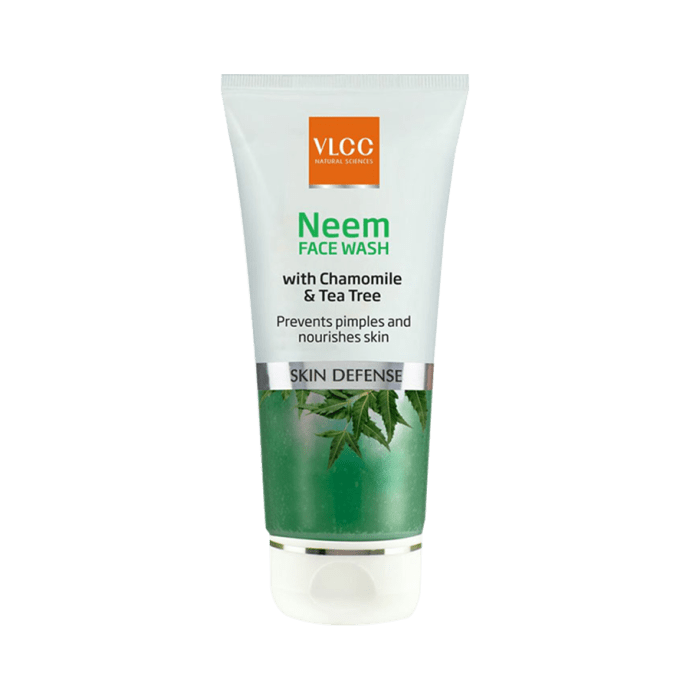 VLCC Neem Face Wash with Chamomile & Tea tree Pack of 2