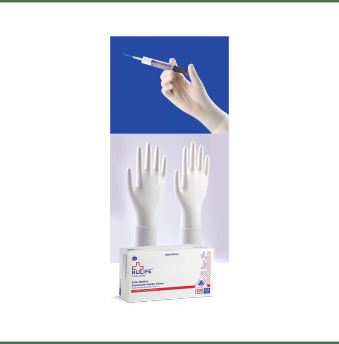 Nulife Latex Examination Non-Powdered, Non Sterile Glove M