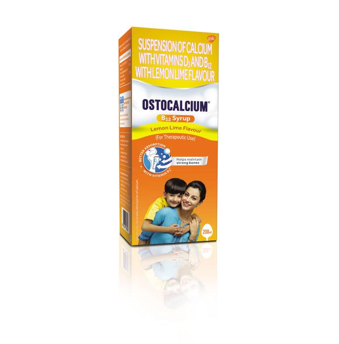 Ostocalcium B12 Syrup Lemon