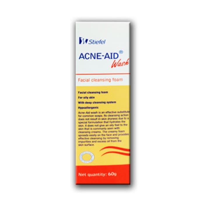 Acne-Aid Wash Facial Cleansing Foam