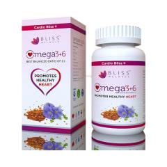 Bliss Welness Cardio Bliss Omega 3 6 9 Softgel Buy Bottle Of