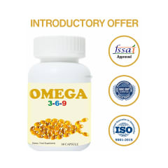 J J Enterprise Omega 3 6 9 Capsule Buy Bottle Of 60 Capsules At