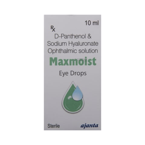 Maxmoist Eye Drop: View Uses, Side Effects, Price and Substitutes | 1mg