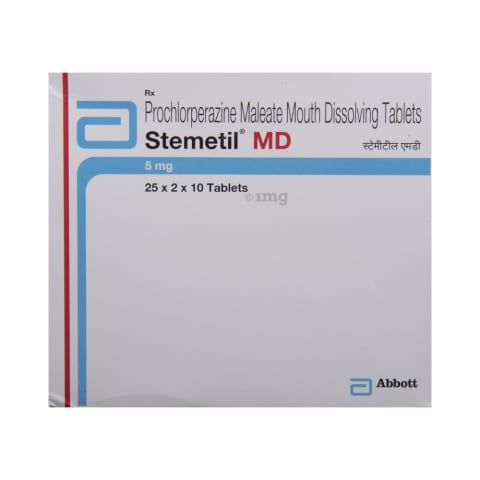 Stemetil MD Tablet: View Uses, Side Effects, Price and Substitutes | 1mg