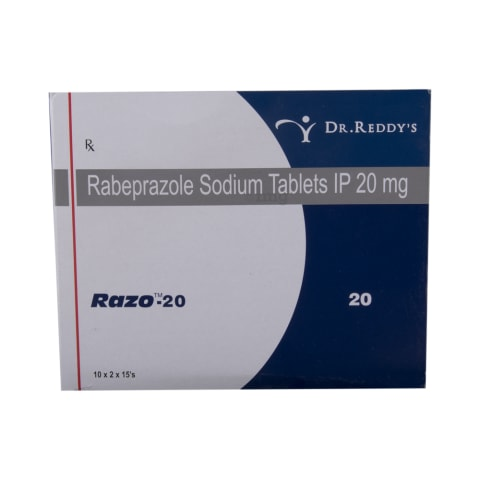 Razo 20 Tablet: View Uses, Side Effects, Price and Substitutes | 1mg
