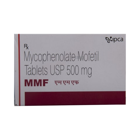 MMF Tablet: View Uses, Side Effects, Price and Substitutes | 1mg