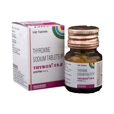 Thyrox 12 5 Tablet 1mg