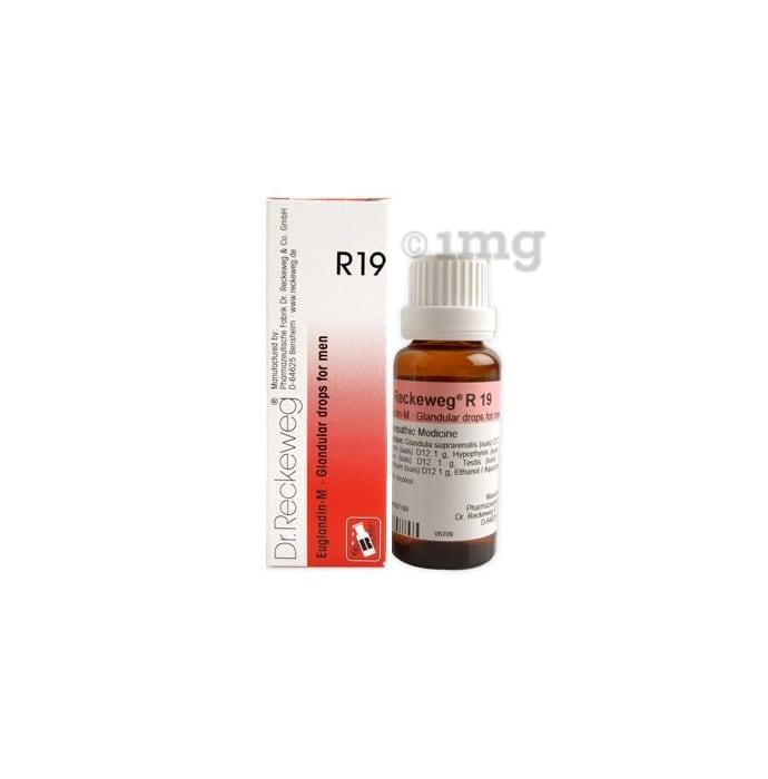 Dr. Reckeweg R19 Glandular Drops For Men