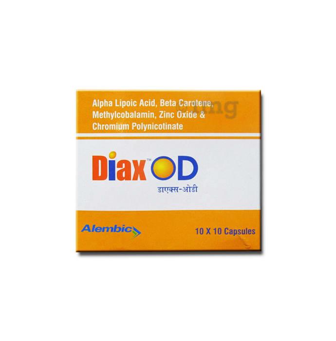 Diax OD Soft Gelatin Capsule