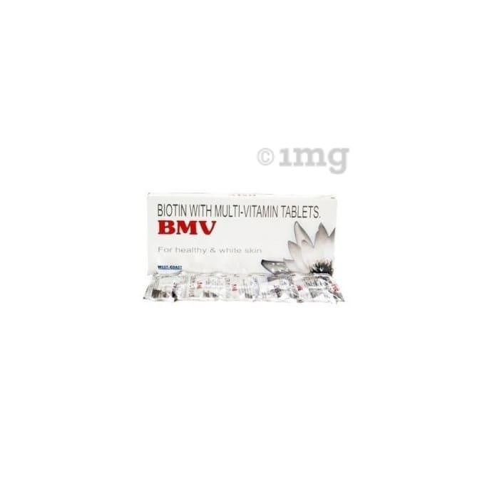 BMV Biotin Multivitamin For Hair, Skin & Nails Tablet