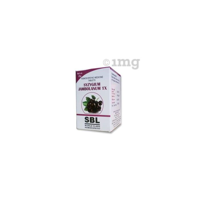 SBL Syzygium Jambolanum Trituration Tablet 1X