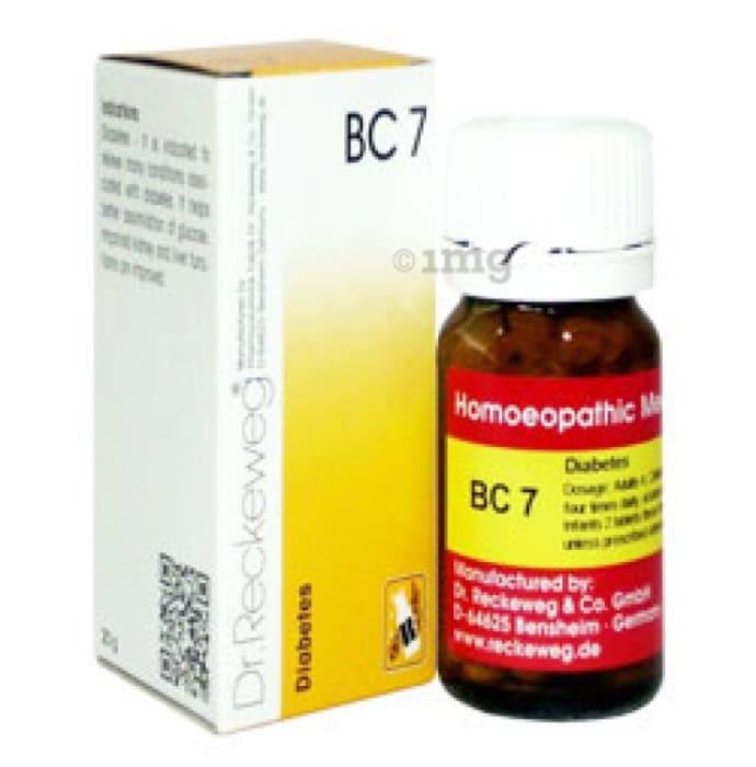 Dr. Reckeweg Bio-Combination 7 (BC 7) Tablet
