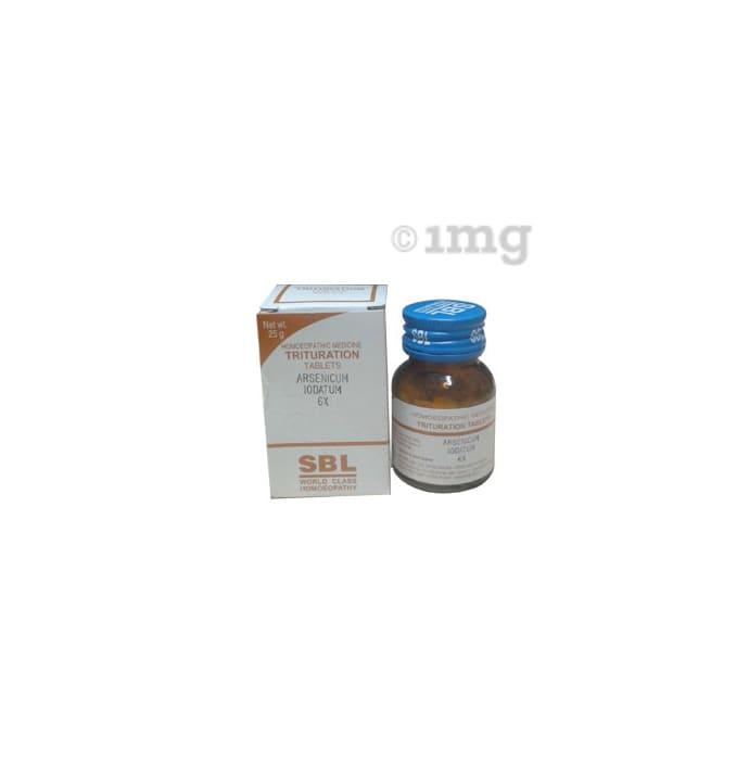 SBL Arsenic Iodatum Trituration Tablet 6X