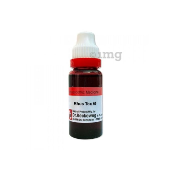 Dr. Reckeweg Rhus Tox Mother Tincture Q