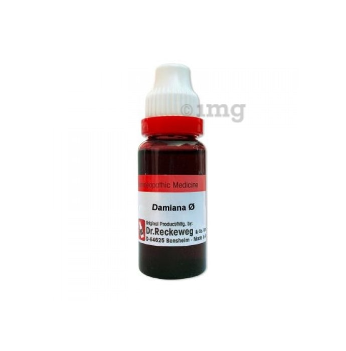 Dr. Reckeweg Damiana Mother Tincture Q