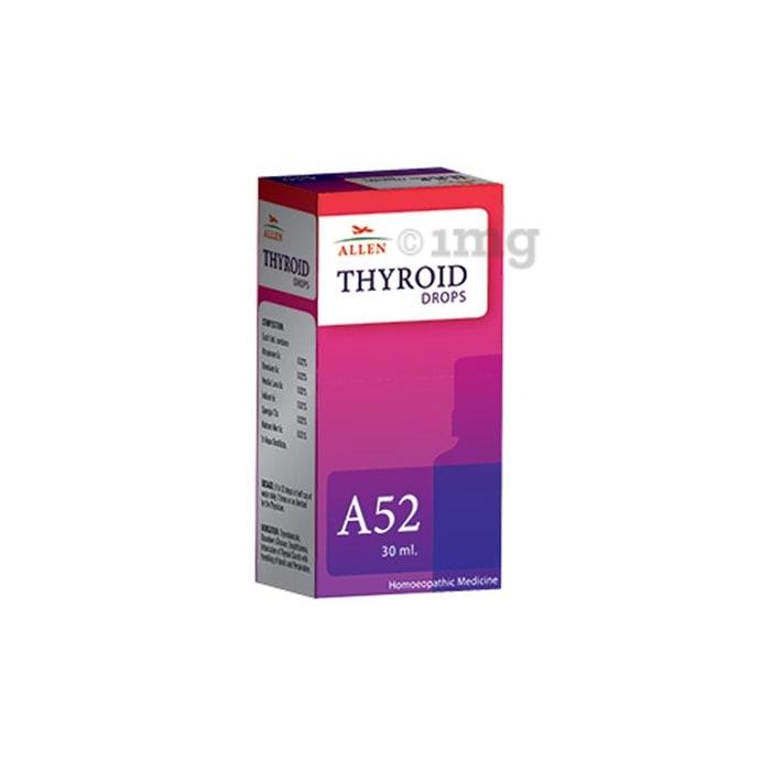 Allen A52 Thyroid Drop