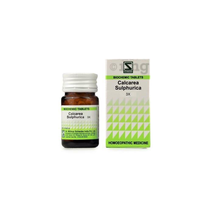 Dr Willmar Schwabe India Calcarea Sulphurica Biochemic Tablet 3X