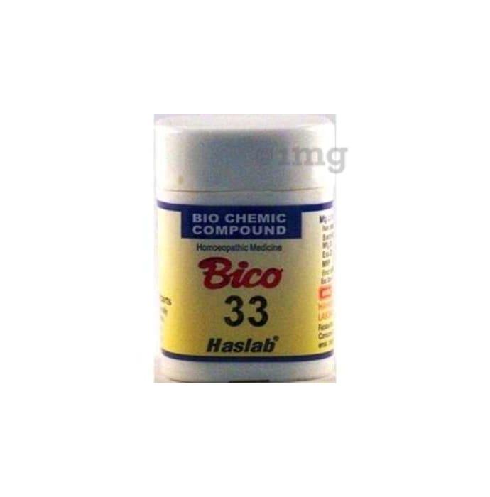 Haslab Bico 33 Biochemic Compound Tablet