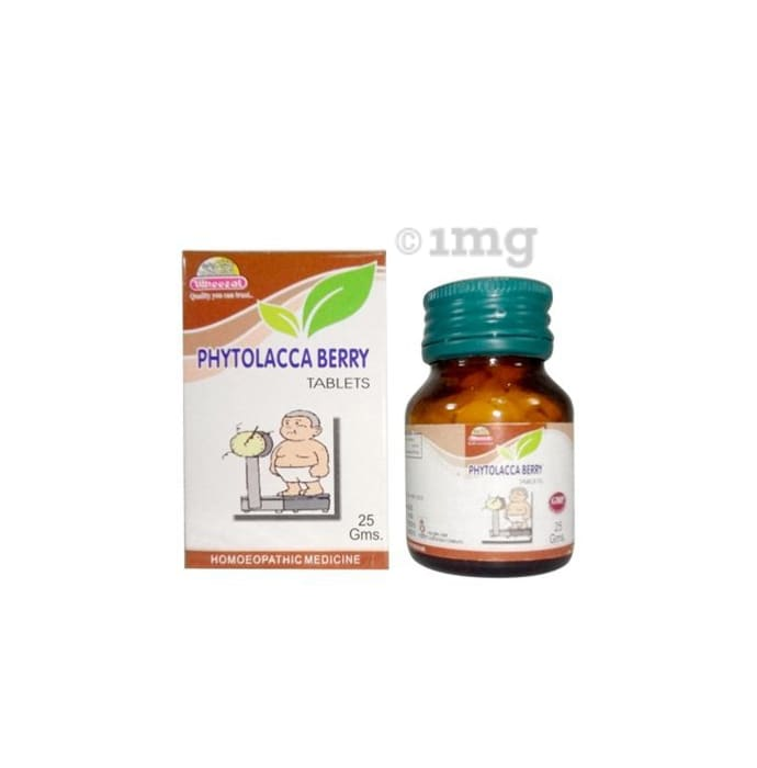 Wheezal Phytolacca Berry Tablet