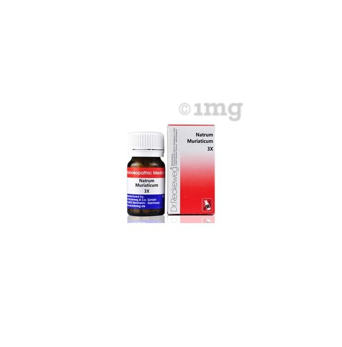 Dr. Reckeweg Natrum Muriaticum Biochemic Tablet 3X