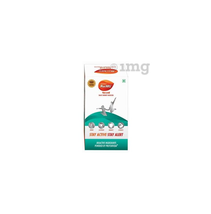 Proyurveda Maxnrg Energy Booster Capsule