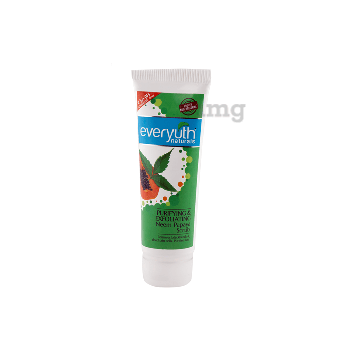 Everyuth Naturals Purifying & Exfoliating Neem Papaya Scrub
