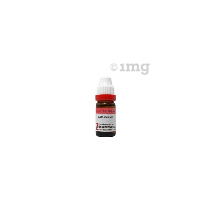 Dr. Reckeweg Aalserum Dilution 3X
