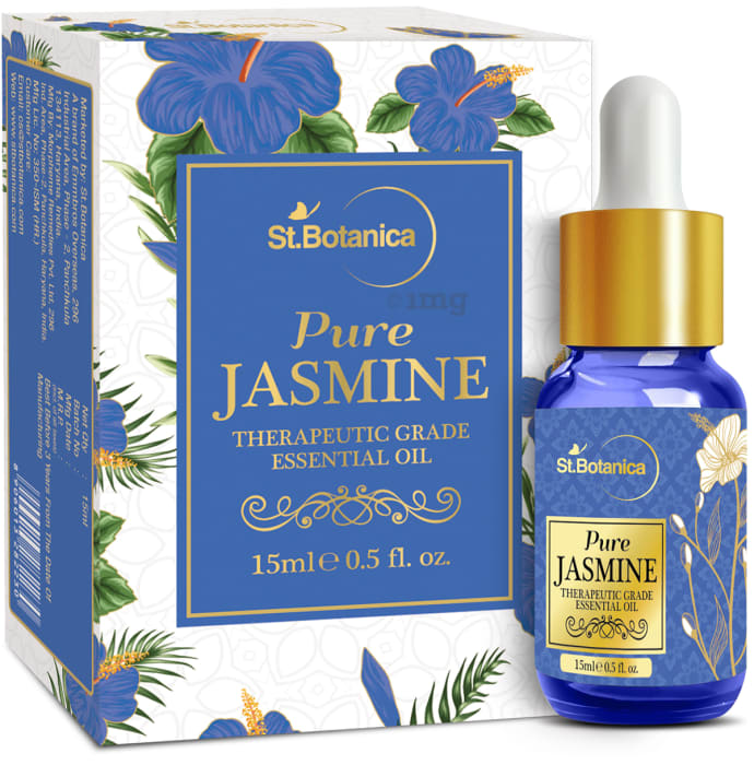 St.Botanica Jasmine Pure Essential Oil