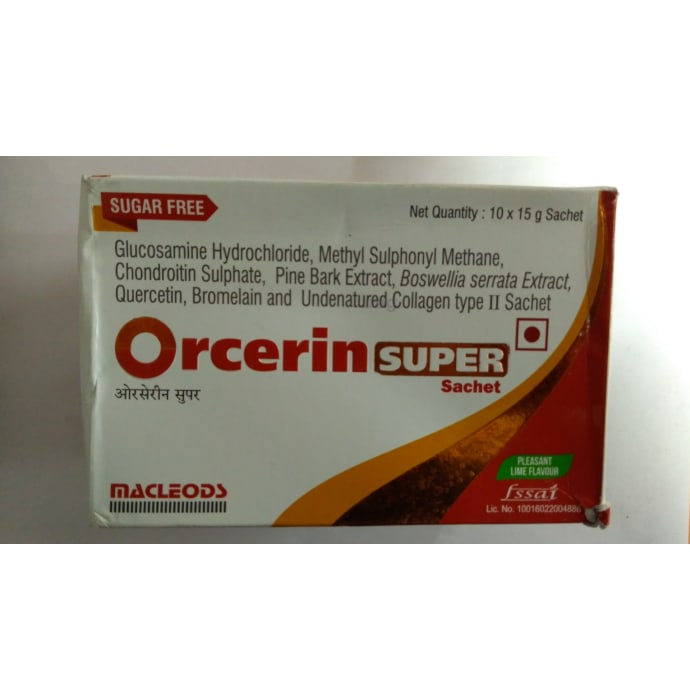 Orcerin Super Sachet Sugar Free