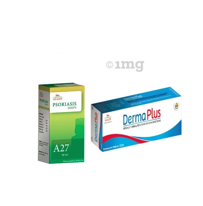 Allen Anti Psoriasis Combo (A27 + Derma Plus Cream)