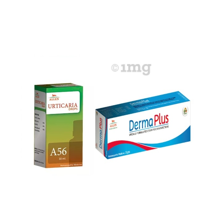Allen Anti Urticaria Combo (A56 + Derma Plus Cream)