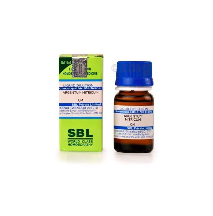 SBL Argentum Nitricum Dilution CM CH