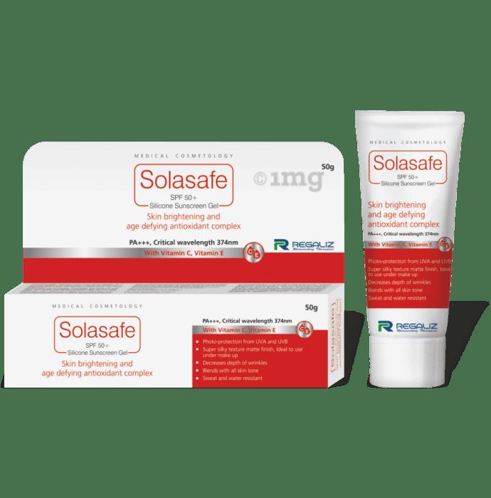 Solasafe Spf 50+ Sunscreen Gel