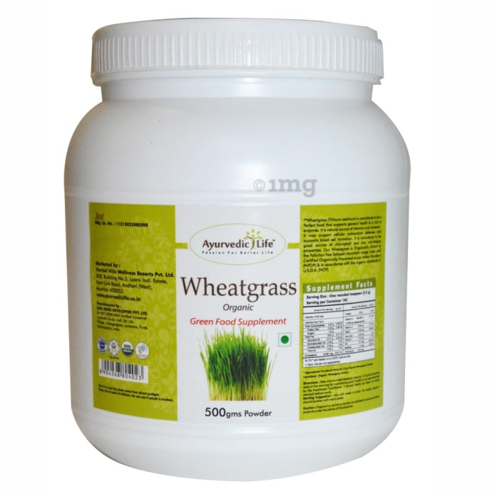 Ayurvedic Life Wheatgrass Powder