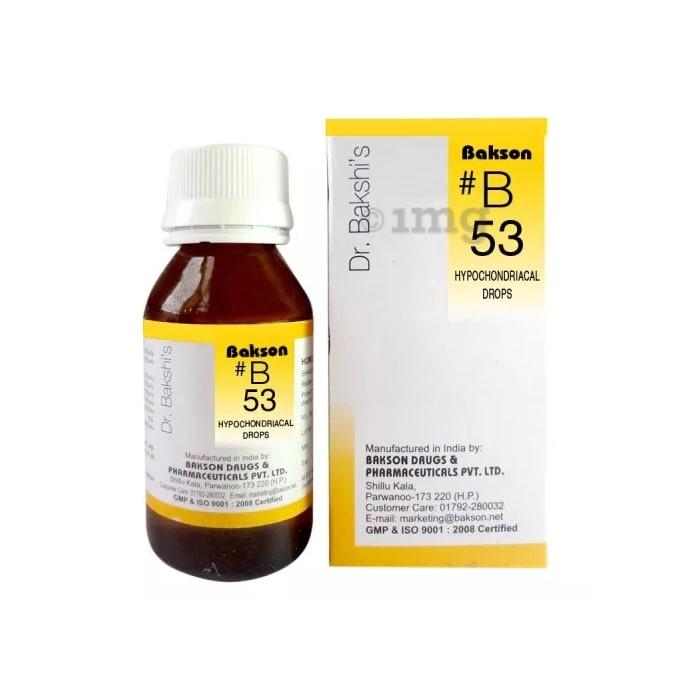 Bakson's B53 Hypochondriacal Drop